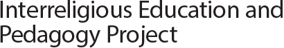 Interreligious Education and Pedagogy Project Logo